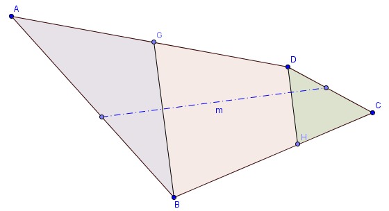 Dividing A Polygon In Any Given Number Of Equal Areas